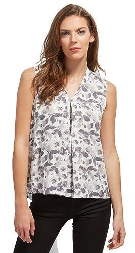 Tom Tailor Feminine Print Blousetop, Blusa para Mujer
