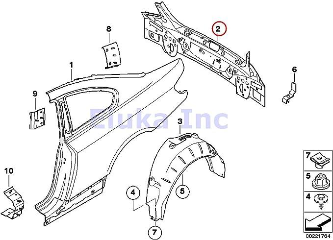 BMW Genuine Tail Panel