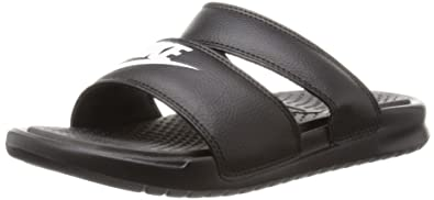Pantoletten NIKE - Benassi Duo Ultra Slide 819717 002 Black/White