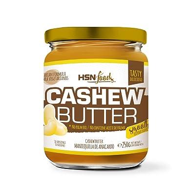 HSN Foods - Mantequilla de Anacardos con Textura Cremosa y Suave - 100% Natural -