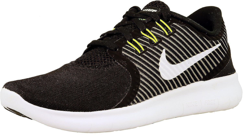 Nike W Free RN CMTR 2017 Prem, Hausschuhe de Running para damen schwarz