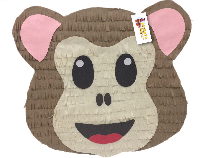 Baby Monkey Emoji Pinata