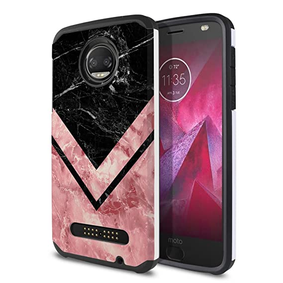 Cell Phones & Accessories Sweet-Tempered 2-incipio Dual Pro Hardshell Case Moto X 2nd Gen Blk Dual Layer Protection Case