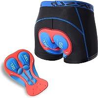 ARSUXEO Gevoerde fietsonderbroek voor heren, ondergoed voor mountainbike, ademend, sneldrogend