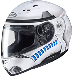 HJC Star Wars Unisex-Adult CS-R3 Storm Trooper Motorcycle Full Face Helmet (