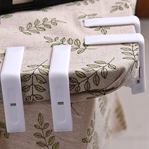 Amazon.com: FineInno Stainless Steel Table Skirting Clips Table Cover Clamps Endurable Metal Tablecloth Holders Anti Wind for Table 1.6