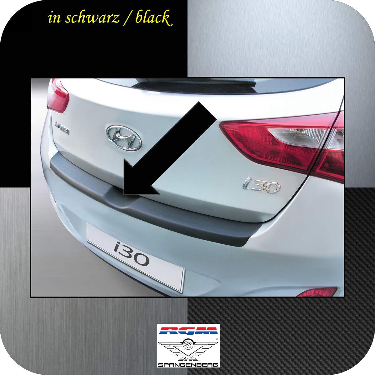 Richard Grant Mouldings Ltd. Original RGM ladekant Protección Negro para Hyundai i30 II (GD) Hatchback de 5 Puertas diseño años 12.2011 - 03.2017 rbp551: ...