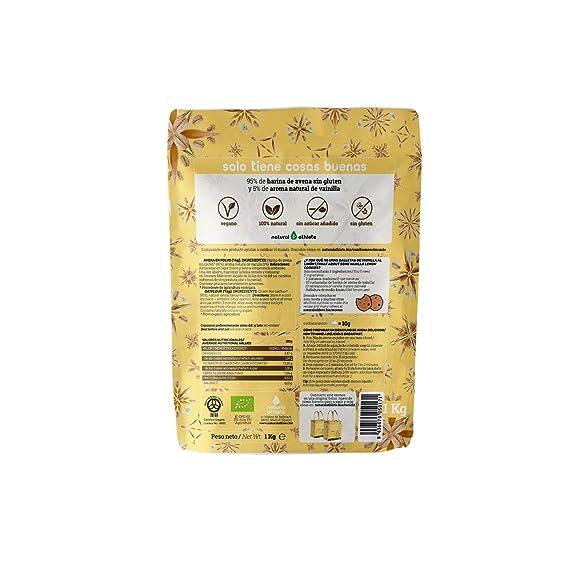 Avena molida - Natural Athlete - 100% Natural y orgánica, sin azúcar añadido. 1Kg (Chocolate): Amazon.es: Alimentación y bebidas