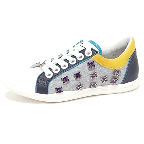 Frankie Morello Sneakers Uomo Mcbi125091o Pelle Grigio dLr6m