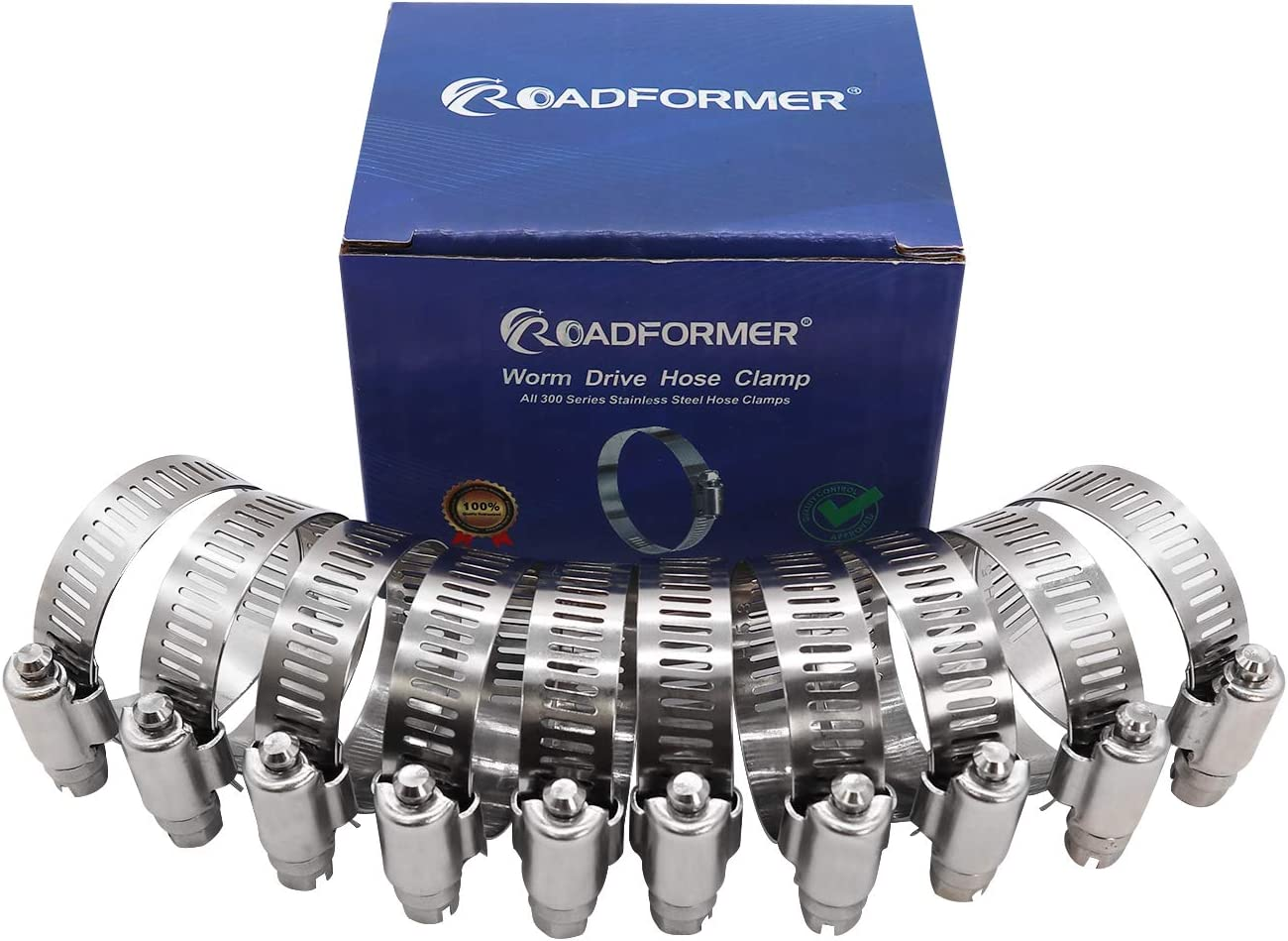 "10pk Breeze 62020H Power Seal Clamps Range 21mm - 44mm 1-3//4/"" 13//16/"""