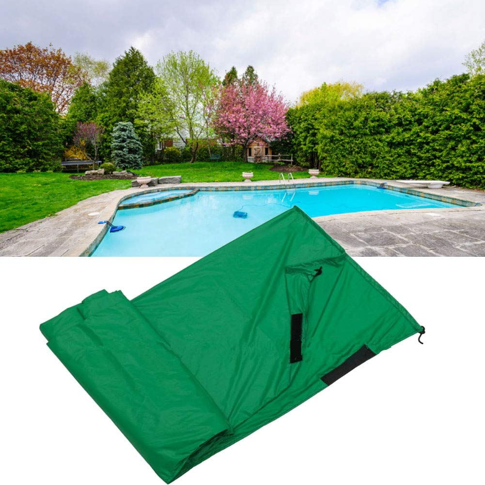 Asixx Waterproof Pool Cover L:730 * 76cm Sun Protection Patio Heater Pool Cover Waterproof Protector Outdoor Heavy Duty Garden for Snow and Frost