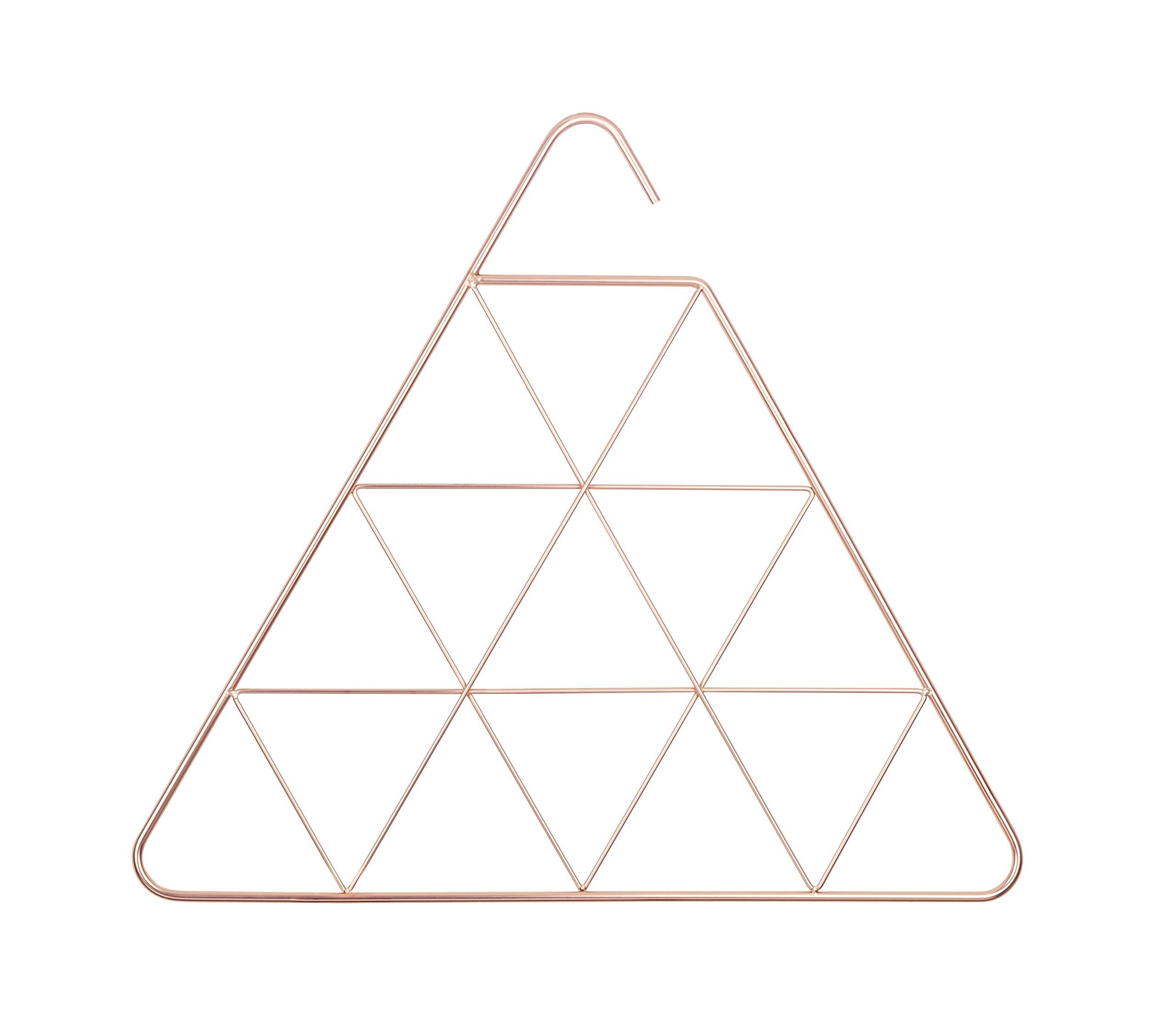 Umbra Pendant Triangular Copper Scarf Hanger/Accessory Hanger, Copper by Umbra (Image #1)