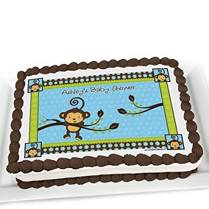 Amazon Baby Shower Cake Toppers Monkey Boy Toys Games