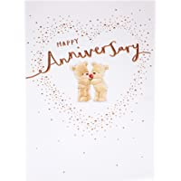 Gibson Cute Teddy Bear Design Wedding Anniversary Card