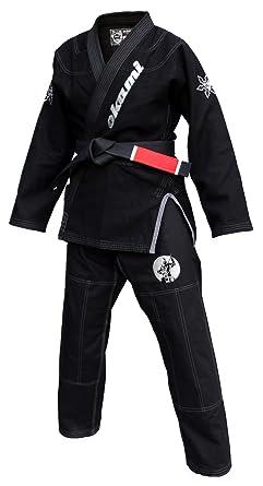 Okami Fight Gear - Ninja Traje de BJJ Gi, Unisex, Ninja, Negro ...