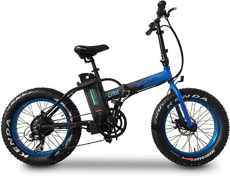 Emojo Lynx Bicicleta eléctrica Plegable 500 W 36 V E-Bike 20 X 4.0 ...