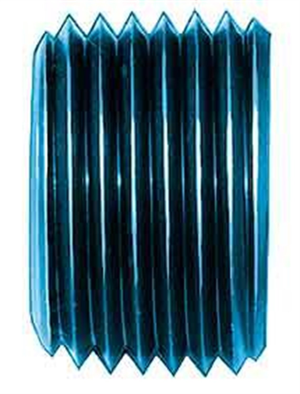 Aeroquip FCM3687 Blue Anodized Aluminum 3/8'' NPT Allen Head Pipe Plugs - Pack of 2