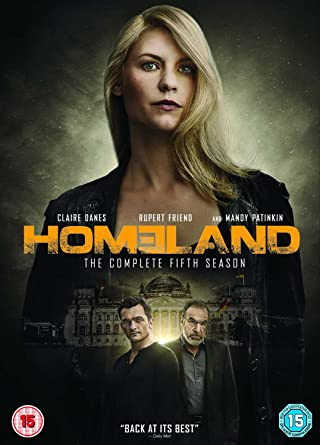 Homeland Season 5 DVD 2015 Amazon Claire Danes