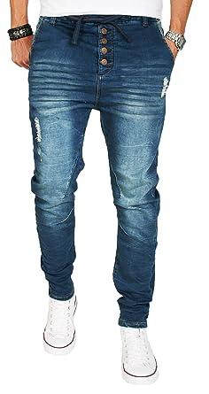 neue Stile df51d 47889 Urban Surface Men's Slim Jeans Blue Blue: Amazon.co.uk: Clothing
