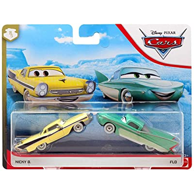 ACTION Cars 1:55 Scale Die Cast Car Set Flo and Nicky B: Toys & Games