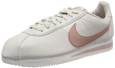 size 40 439da 69596 Nike WMNS Classic Cortez Leather, Sneakers Basses Femme, Multicolore  (White Guava Ice