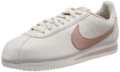4b54231f72fc0 Nike 807471-109: Classic Womens White/Coral Cortez Sneakers