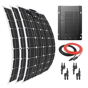 Giosolar Panel Solar 300 W Flexible Panel Solar Kit Cargador ...