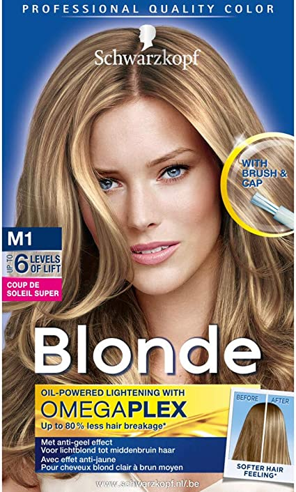 Schwarzkopf Blonde Coupe de Soleil - Tinte para el pelo ...