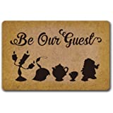 Eureya Door Mat Doormat Inside/Outside Kitchen Rugs Rubber Mat Home Decor 40x60cm (Be Our Guest)