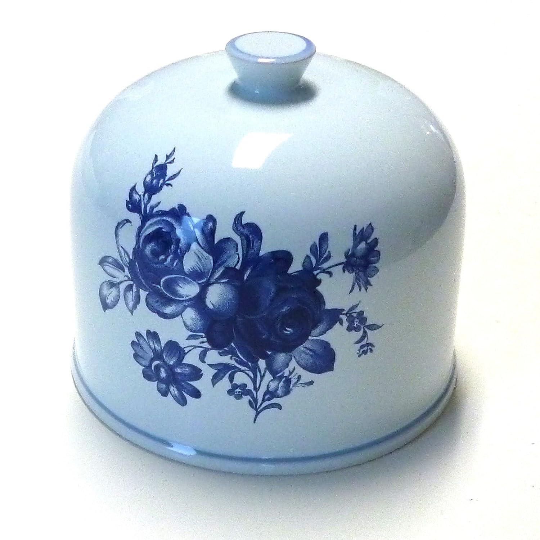 Käseglocke Keramik Keramik Keramik Haube Glocke original für Girolle aus der Schweiz -Fleurs Blaues- B06Y2HF9M7 Hobel & Reiben e602c1