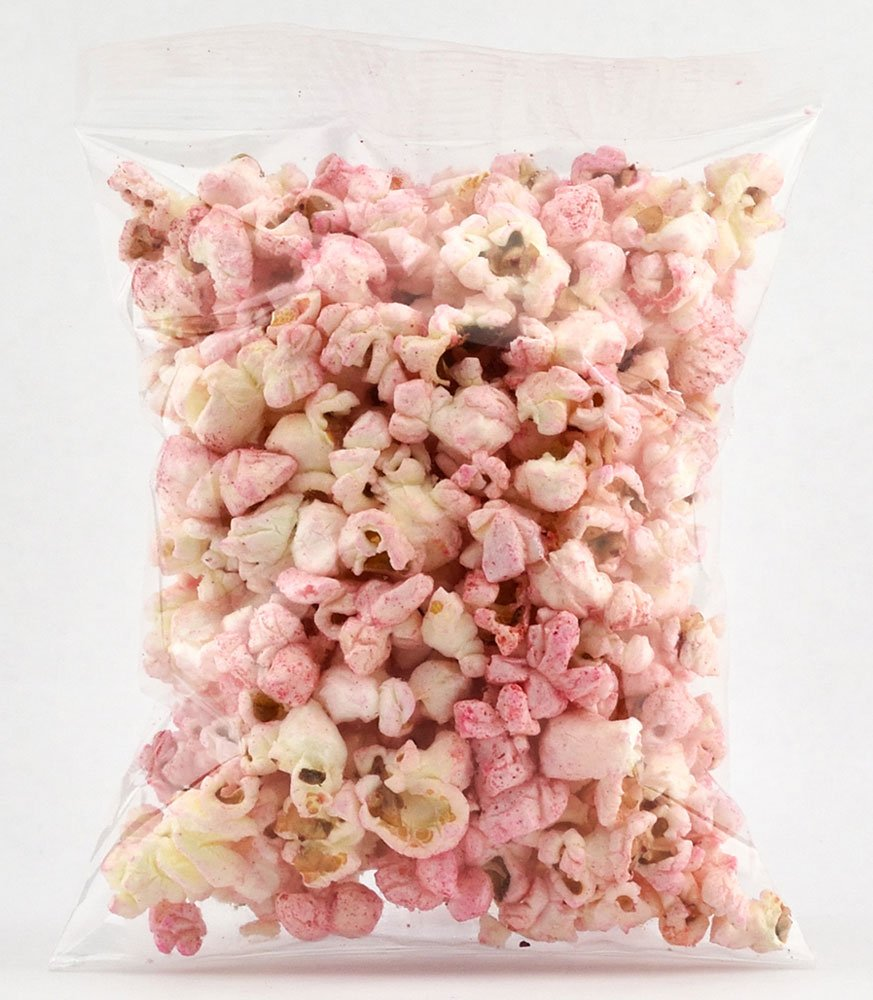 Amazon.com: Lisa Snacks Ready to Eat Popped Popcorn (Pink Colored ...