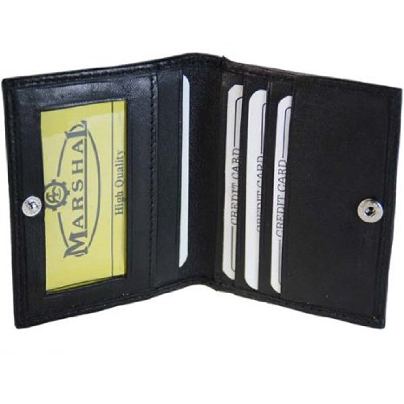 Marshal Leather Credit Card Case/Wallet ID Window #78