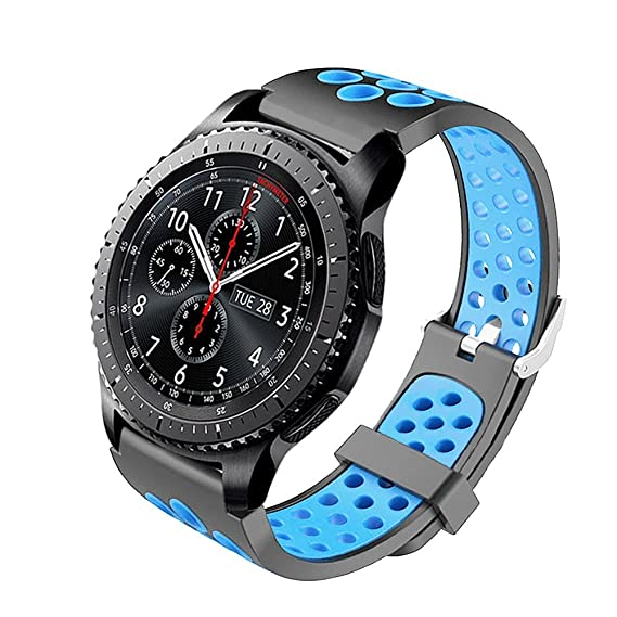 Amazon.com: Budesi Bands Compatible with Samsung Gear S3 ...