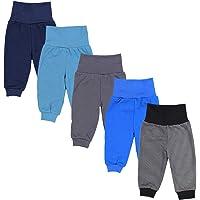 TupTam Pantalones de Chándal para Bebés Paquete de 5