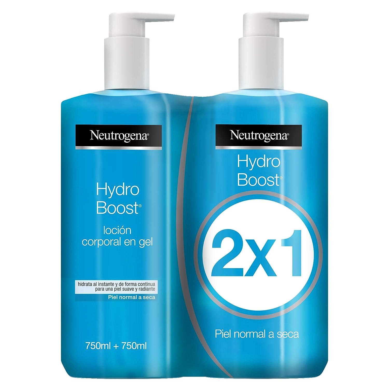 Neutrogena, Hydro Boost Loción Corporal en Gel, 2x750ml