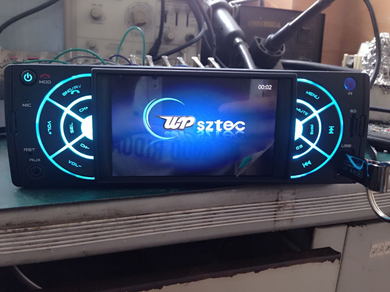 Car Stereo Receiver ,UPSZTEC Audio 4.1