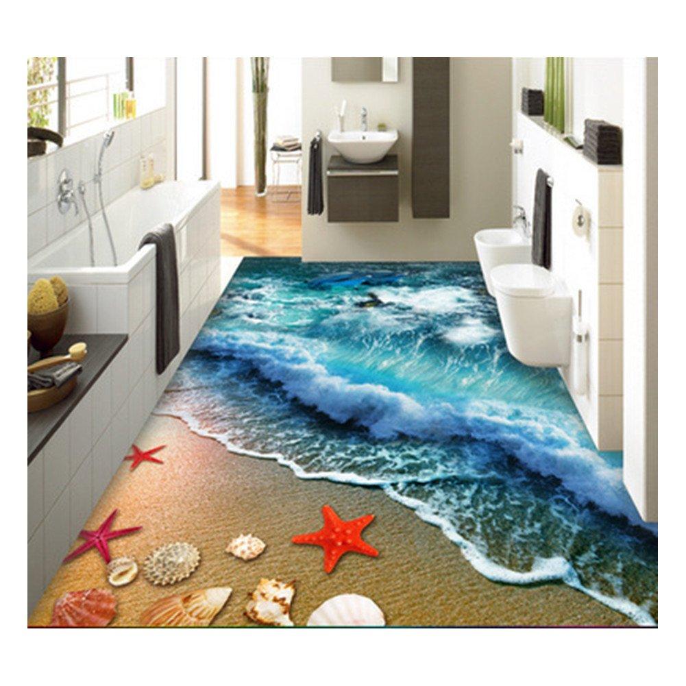 Amazon.com : ZaH Thin 3D Area Rug Non-slip Doormat Carpet Printing ...