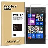 Microsoft Lumia 1020 Protection écran, iVoler® Film Protection d'écran en Verre Trempé Glass Screen Protector Vitre Tempered pour Microsoft Lumia 1020- Dureté 9H, Ultra-mince 0.20 mm, 2.5D Bords Arrondis- Anti-rayure, Anti-traces de doigts,Haute-réponse, Haute transparence- Garantie de Remplacement de 18 Mois