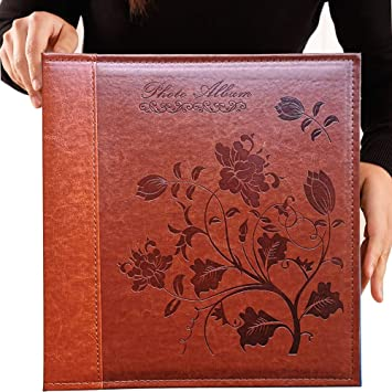 Totocan 4x6 Photo Album 600 Pockets Extra Large Capacity Picture Album With Vintage Leather Cover Family Baby Wedding Album Red Brown