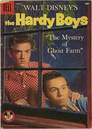 Walt Disney's Hardy Boys - The Mystery of Ghost Farm - Dell Four-Color  Mickey