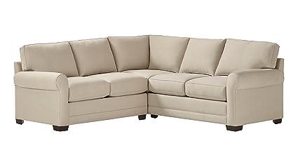 Surprising Stone Beam Kristin Performance Fabric Sectional Sofa Couch 93W Sand Spiritservingveterans Wood Chair Design Ideas Spiritservingveteransorg