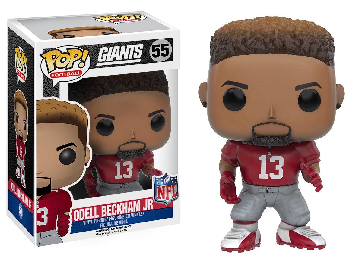 NFL Funko Pop Odell Beckham Jr. Wave 3 New York Giants Football Vinyl Figure Toy 889698102261  eBay