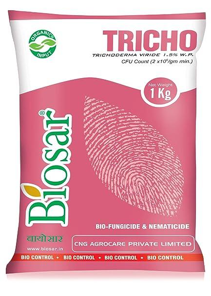 Biosar Tricho (1kg) - Bio Pesticide/Bio Fungicide Trichoderma