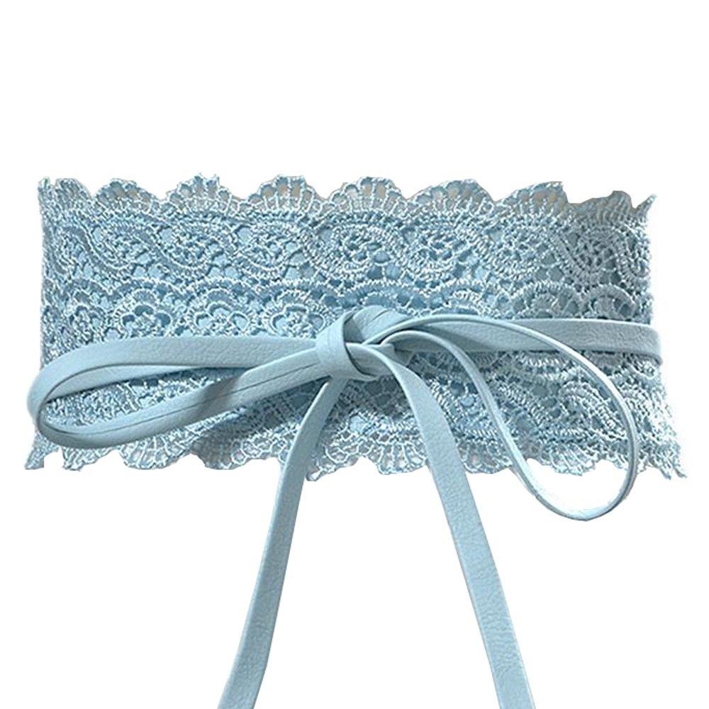 Women's Lace Waist Belt Bow...