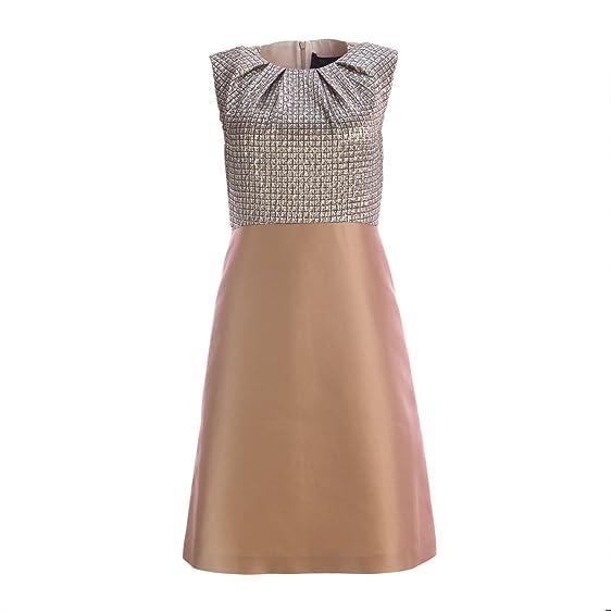 Maxmara yellow a line dress size 8