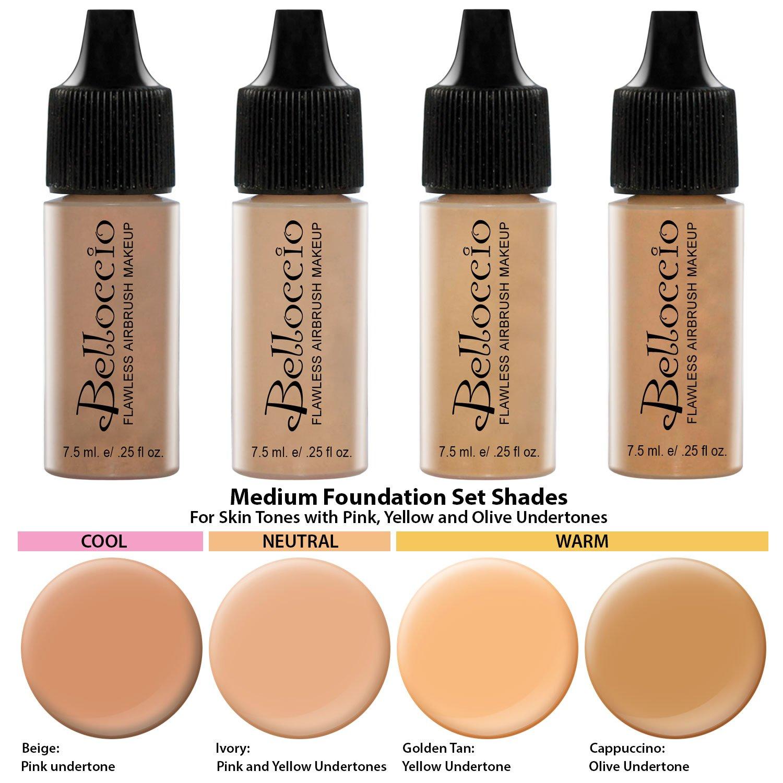 amazon com belloccio professional beauty airbrush cosmetic makeup