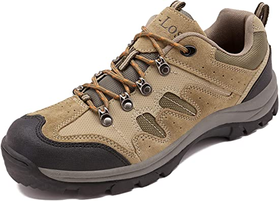 SELCNG Hiking Shoes Casual Outdoor Hiking Hiking Shoes Leather mesh Breathable