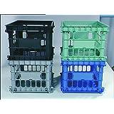 Staples File Storage Crates, Black