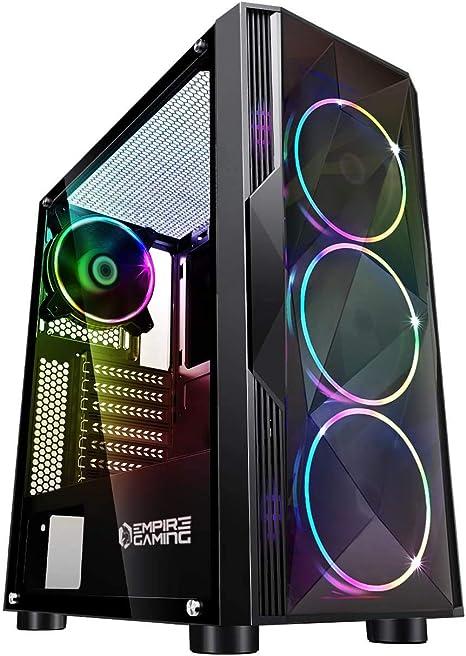 Empire Gaming Diamond Pc Gehäuse Gamer Argb Computer Zubehör