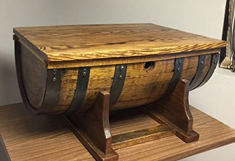 Captivating Whiskey Barrel Coffee Table